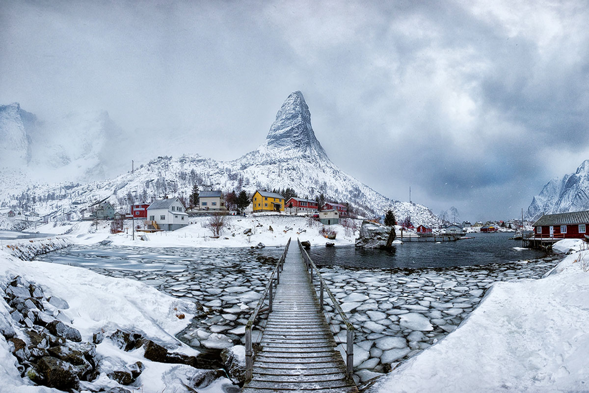 mount olstind, Norway - lofoten photography workshop