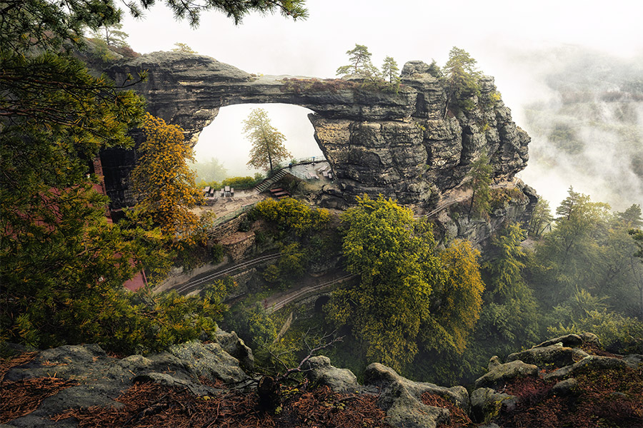 Pravcice Gate, photography workshop in Bohemian & Saxon Switzerland with inscape photo tours